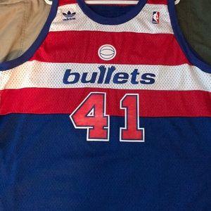 fcaeb0d6c adidas Shirts - Wes Unseld Vintage Washington Bullets Jersey